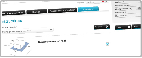 Roof Calculator™ - with a user friendly step by step interface